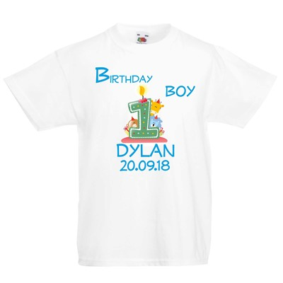 1st Birthday Tshirt