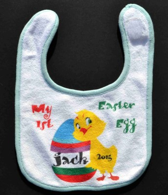 1st easter egg bib 799 personalised gifts ennis clare 1st easter egg bib negle Image collections