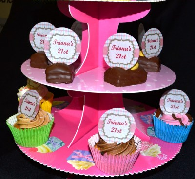 Edible Wafer Paper CupCake Topper PRECUT
