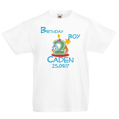 Personalised Kids Tshirts Gifts Ennis Clare Ireland