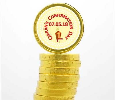 Confirmation Chocolate Coins - €6 20 : Personalised Gifts, Ennis