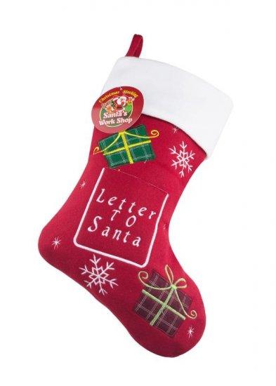 Personalised christmas stockings christmas stockings santa letter to santa presents christmas stocking spiritdancerdesigns Gallery