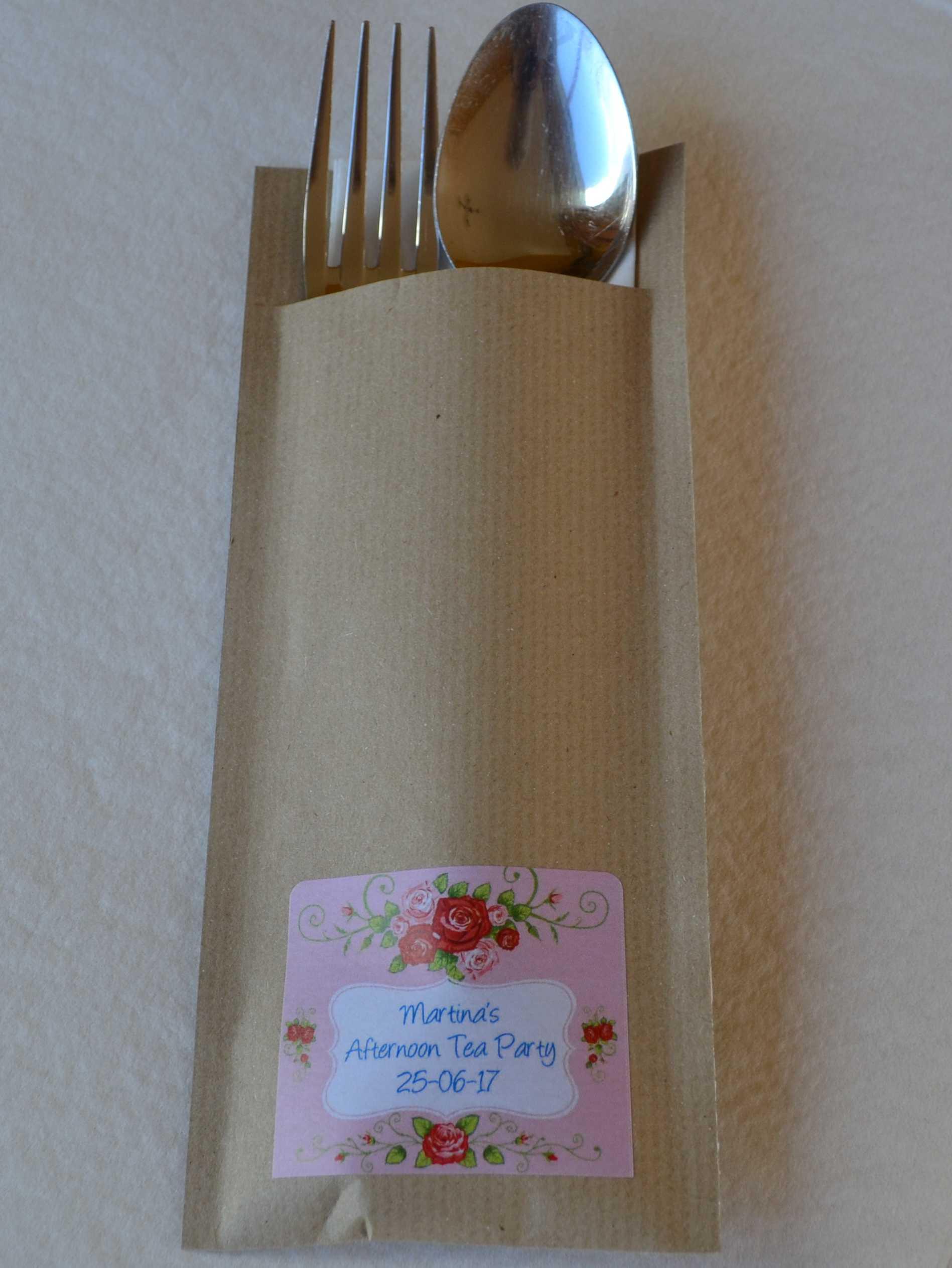 Vintage Rose Napkin Envelope 999 Personalised Gifts Ennis