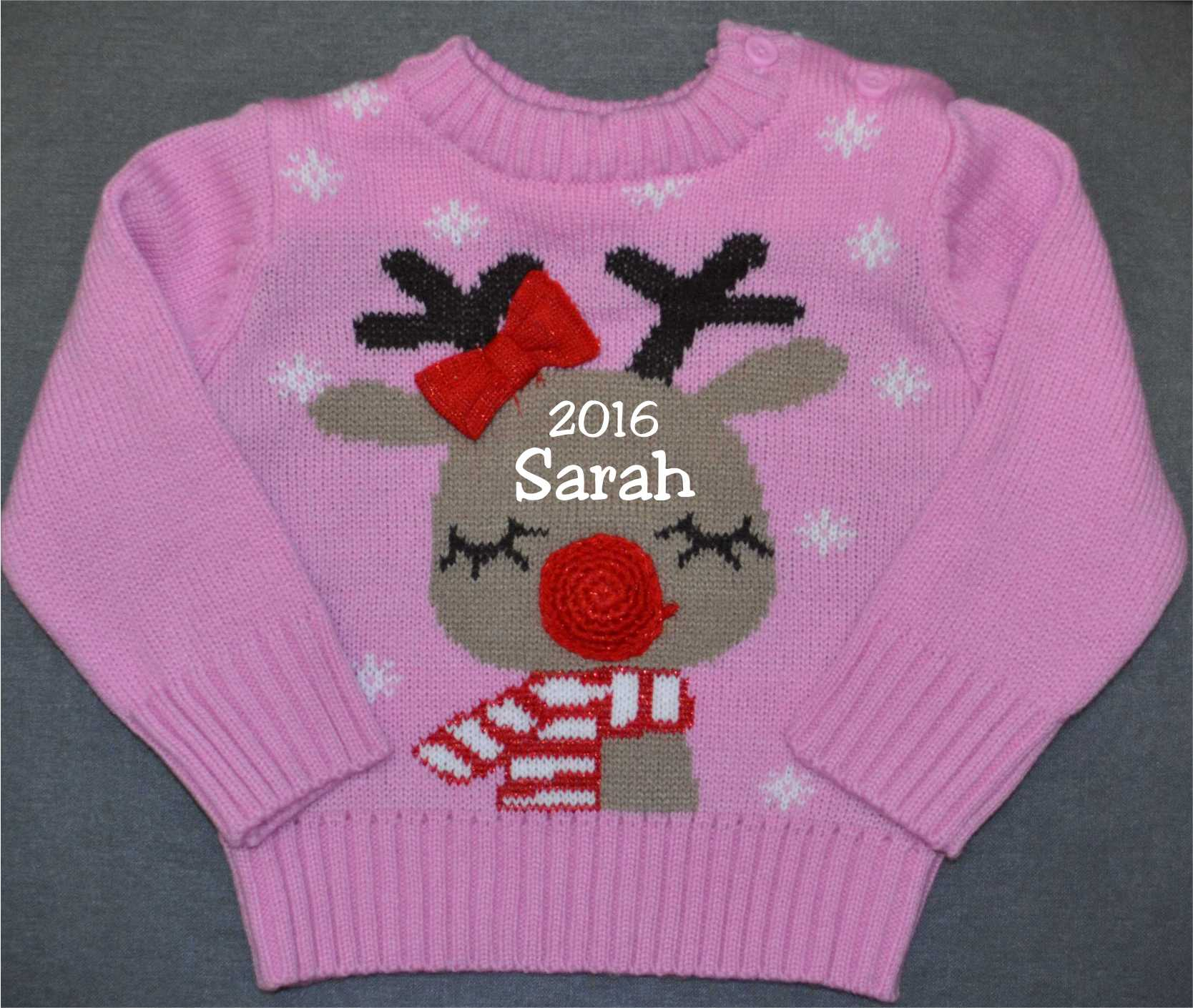 Christmas Baby Jumper : Reindeer - €9.99 : Personalised Gifts, Ennis ...