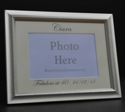 Multi Occasion Silver Photo Frame - €18.99 : Personalised Gifts ...