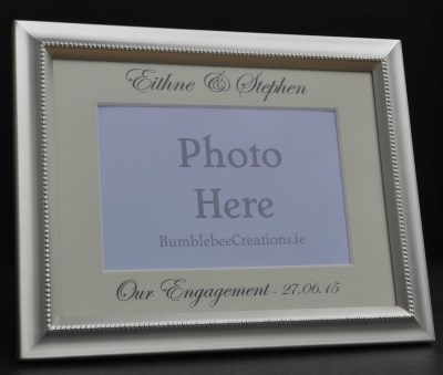 photo frames - Engagement Picture Frame