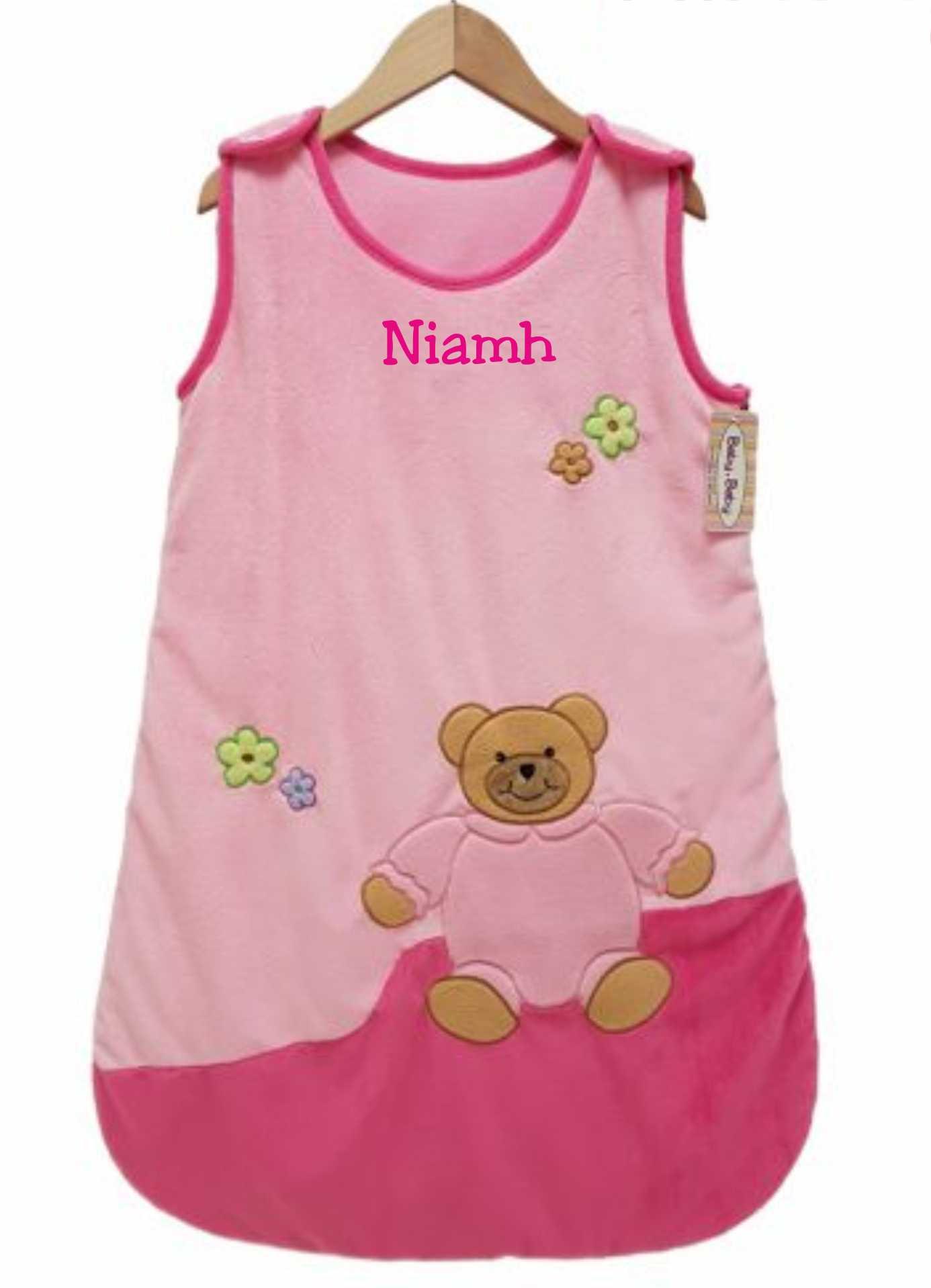 Pink Velour Sleepbag - €23.99 : Personalised Gifts, Ennis Clare ...