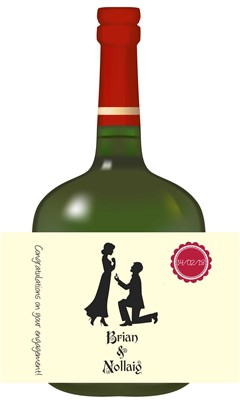 Personalised Bottle Labels for Occasions