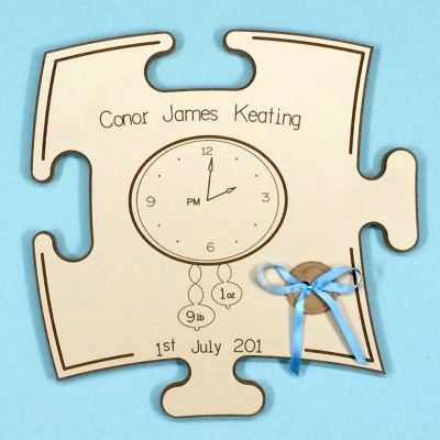 Wooden Board Puzzle Piece - €34.95 : Personalised Gifts, Ennis Clare ...